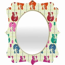 Candy Rock Quatrefoil Mirror