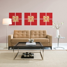 Carnivale Blox Wall Decals