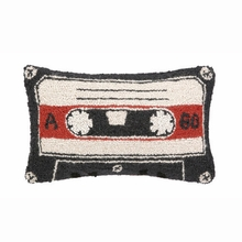 Cassette Tape Hook Pillow