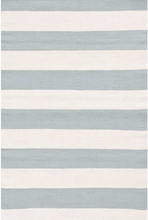 Catamaran Indoor/Outdoor Rug in Light Blue and Ivory