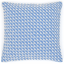 Chadna French Blue Square Pillow