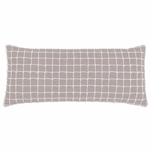 Chadna Grey Rectangular Pillow