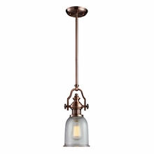 Chadwick Pendant In Antique Copper
