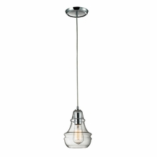Charleston Bulb Pendant In Polished Chrome