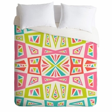 Checkmate Kaleidoscope Lightweight Duvet Cover