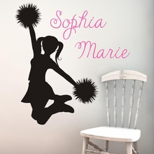 Cheerleader Wall Decal