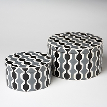 Chelsea Round Stripe Box