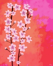 Cherry Blossoms Canvas Wall Art