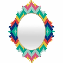 Chevron 5 Baroque Mirror