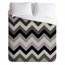 Chevron Black Lightweight Duvet Cover