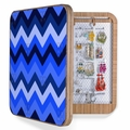 Chevron Blue BlingBox