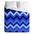 Chevron Blue Lightweight Duvet Cover