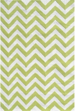 Chevron Lime Indoor/Outdoor Rug