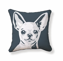 Chihuahua Reversible Throw Pillow