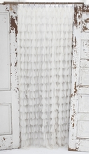 Chichi Ivory Petal Shower Curtain
