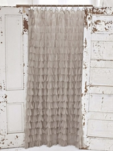 Chichi Sable Petal Shower Curtain