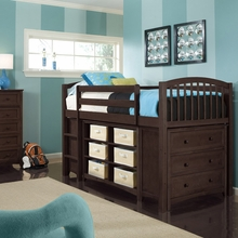 Cocoa Low Twin Loft