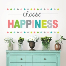 Choose Happiness Quote Wall Decal
