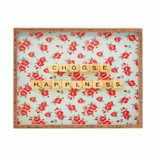 Choose Happiness Rectangle Tray