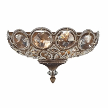 Christina Crystal Sconce In Mocha