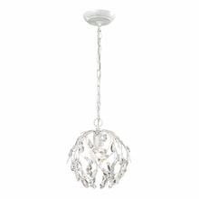 Circeo Mini Pendant In Antique White