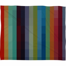 City Colors Fleece Throw Blanket