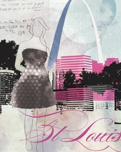 City Girl St. Louis Canvas Wall Art