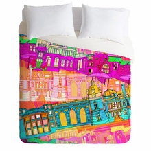 City Scape Lightweight Duvet Cover