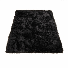 Classic Black Bear Rectangle Rug