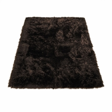 Classic Brown Bear Rectangle Rug