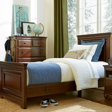 Martin Cherry Panel Bed