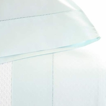 Classic Hemstitch Sky King Pillow Case Pair