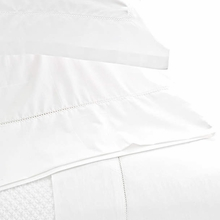 Classic Hemstitch White Standard Pillow Case Pair