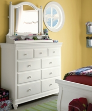Lauren White Dressing Chest