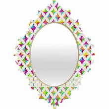 Color Block Baroque Mirror