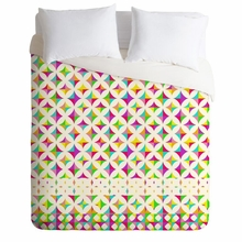 Color Block Lightweight Duvet Cover