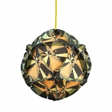 Como Dot Paper Pendant in Gray