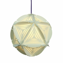 Como Paper Pendant in White