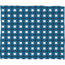 Concentric Square Fleece Throw Blanket