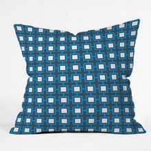 Concentric Square Throw Pillow