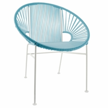Concha Chair - Blue Weave