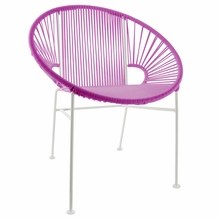 Concha Chair - Pink Weave