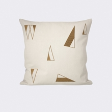 Cone Throw Pillow in Mint
