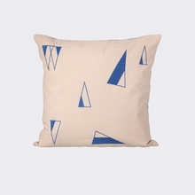 Cone Throw Pillow in Rose