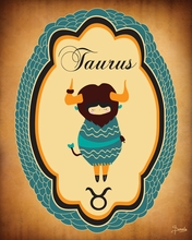 Constellation of Taurus Canvas Wall Art