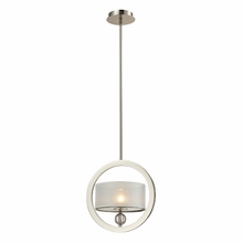 Corisande Pendant In Polished Nickel
