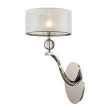 Corisande Sconce In Polished Nickel
