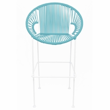 Counter Height Puerto Stool - Blue Weave
