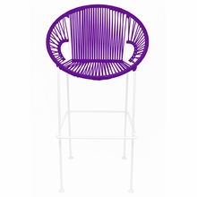Counter Height Puerto Stool - Purple Weave