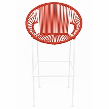 Counter Height Puerto Stool - Red Weave